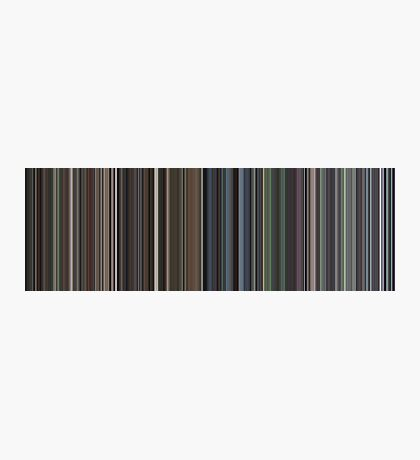 Moviebarcode: Requiem for a Dream (2000) [Simplified Colors] Photographic Print