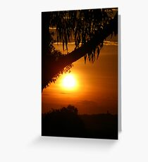Parker Avenue Sunsets Greeting Card