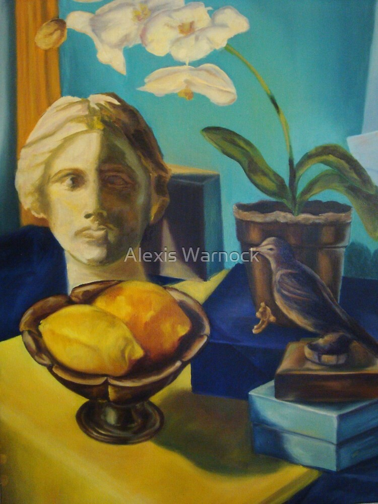 Bathed in Yellow Light by Alexis Warnock