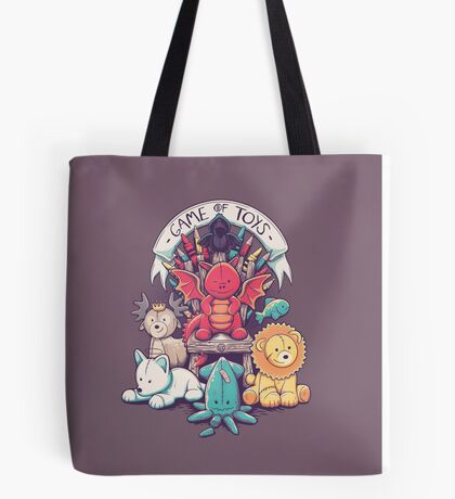 Game Of Toys Tote Bag