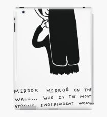 Mirror mirror... iPad Case/Skin