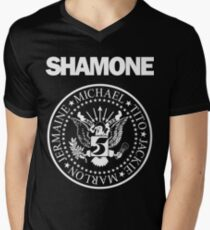 SHAMONE Men's V-Neck T-Shirt