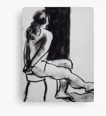 Nude0110 Canvas Print