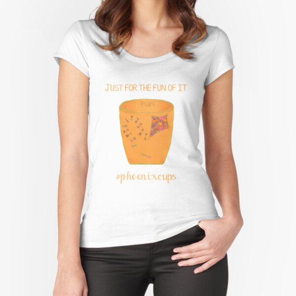 Fun Cup Fitted Scoop T-Shirt