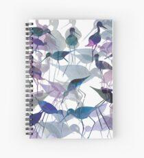Stilts Crowded Spiral Notebook