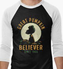Great Pumpkin Believer Men's Baseball ¾ T-Shirt