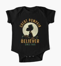 Great Pumpkin Believer One Piece - Short Sleeve