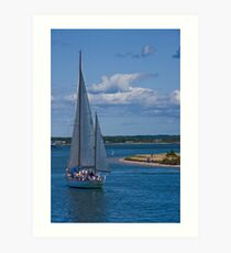 Rounding Chappaquiddick Point Art Print