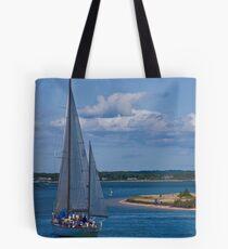Rounding Chappaquiddick Point Tote Bag