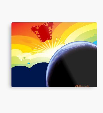 """Betelgeuse Visiting"" Metal Print"
