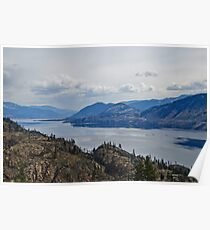 Okanagan Lake from the Park Poster