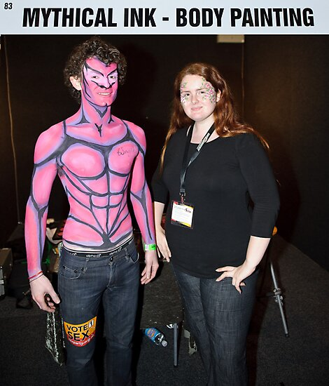 Body Painter - Mythical Ink by Andrew Holford