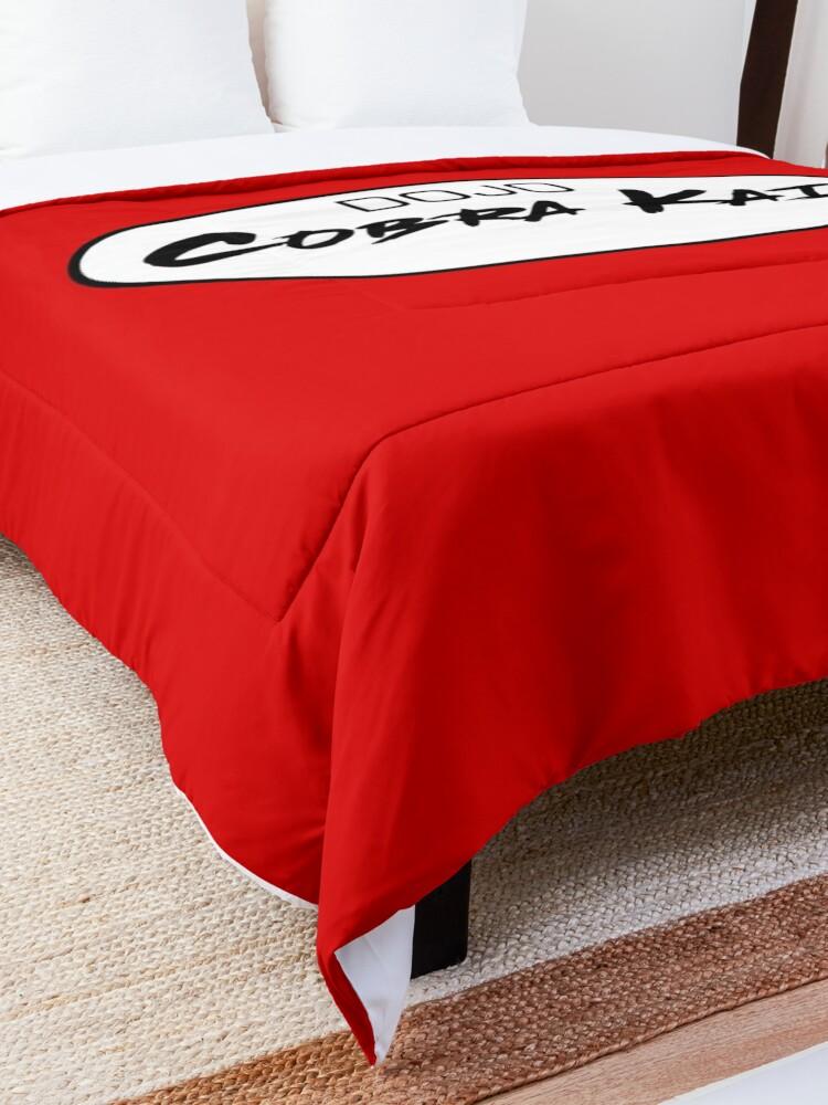 Alternate view of DOJO Cobra Kai Car Sticker Comforter