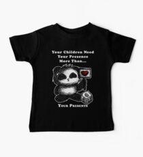 Your Children Need Your Presence! - dark tees Baby Tee