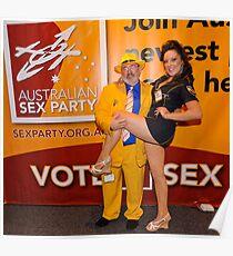 Australian Sex Party Poster