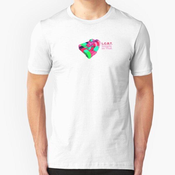 LGBT - Simple as That Slim Fit T-Shirt