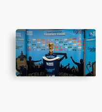 THE RUGBY WORLD CUP Canvas Print