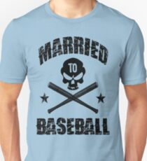 Married to Baseball - Light Unisex T-Shirt
