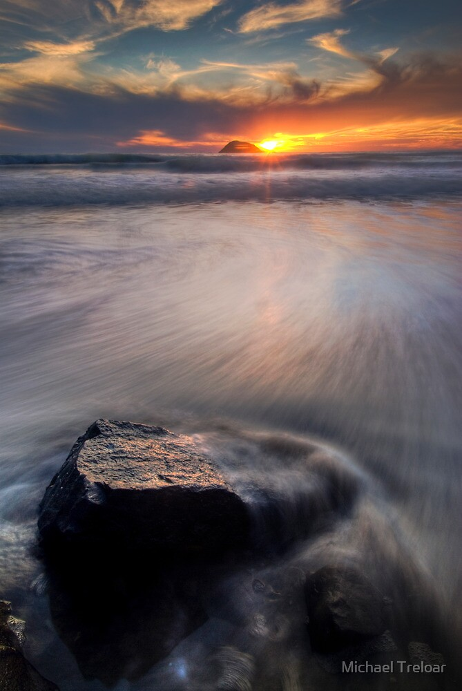 Painful Sunset by Michael Treloar