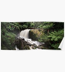 Falls of The Amphitheatre - Panograph Poster