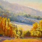 Autumn Afternoon - Trawool by Lynda Robinson