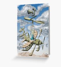 Air Support :Forces of Whimsy Greeting Card