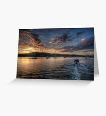 Last Light - Newport, Sydney - The HDR Experience Greeting Card