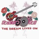 Rock and Roll 50's Music by T-ShirtsGifts