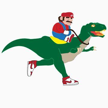 Mario and Yoshi V2 by CrosbyDesign