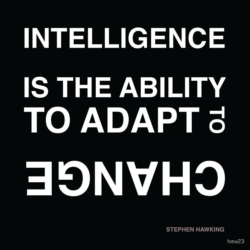 Intelligence ~Stephen Hawking by hmx23