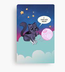 Darth Kitty    Canvas Print