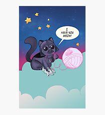 Darth Kitty    Photographic Print