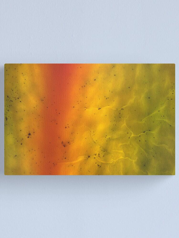 Alternate view of transparent skin Canvas Print