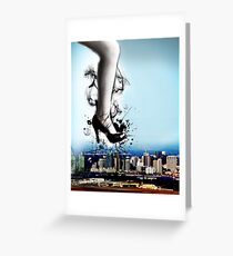 Crushing The City! Greeting Card