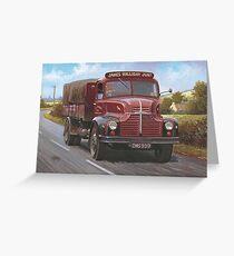 Leyland Comet 1949 Greeting Card