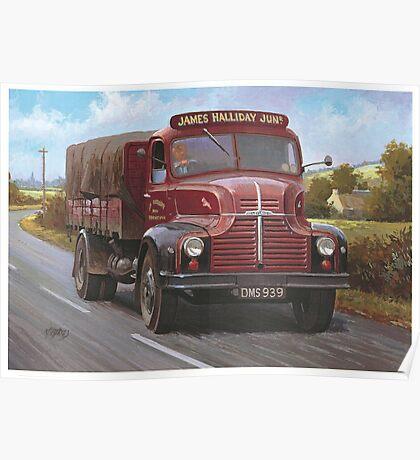Leyland Comet 1949 Poster