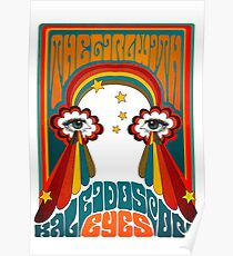 The Beatles Lucy In The Sky With Diamonds Kaleidoscope Eyes Poster