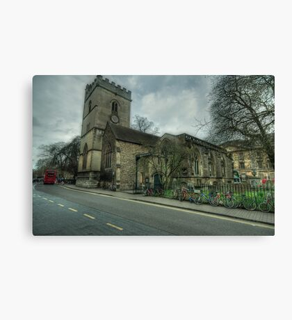 The Church of St. Mary Magdalen Oxford Canvas Print