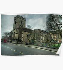 The Church of St. Mary Magdalen Oxford Poster