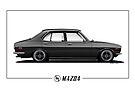 Mazda RX2 Profile by kanseigazou