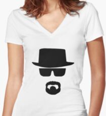 HeisenBerg Low Cost Women's Fitted V-Neck T-Shirt
