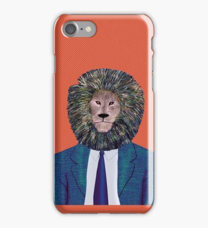 Mr. Lion's portrait iPhone Case/Skin