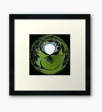 Hole in the world Framed Print