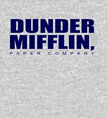 The Dunder Office Mifflin in Blue Kids Pullover Hoodie