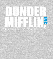 The Dunder Office Mifflin in BW Kids Pullover Hoodie