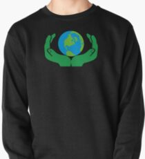 Protect your world Pullover Sweatshirt