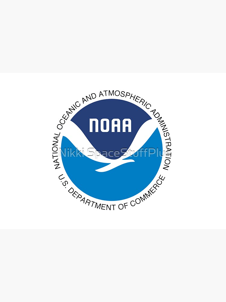 National Oceanic and Atmospheric Administration Logo by Spacestuffplus