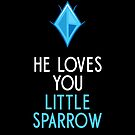 He Loves You, Little Sparrow by zoljo