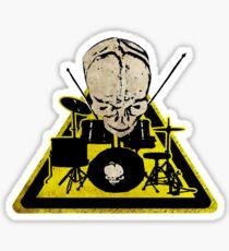 Dangerous drummer 2 Sticker
