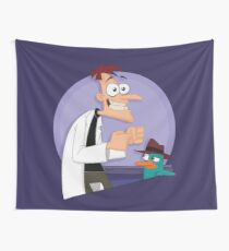 Doof and Perry Tapestry
